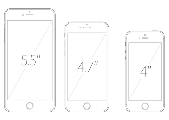iPhone Screen Size 560